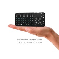 Rii RT504 2.4G keyboard backlight i8