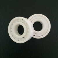 open type PTFE cage 6001 12mm bore 12x28x8 full ceramic zro2 bearing