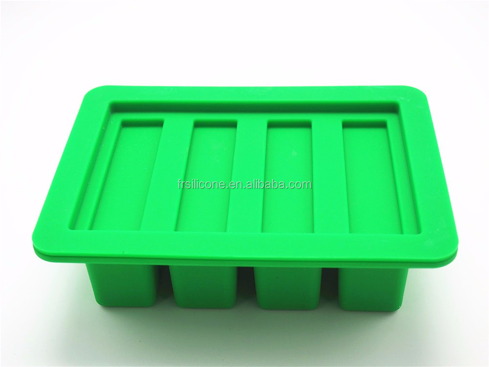 Newest various colors customized large volume silicone butter mold