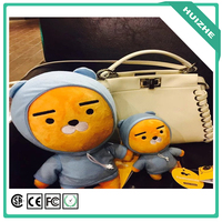 Kakao friends plush Doll kakao friends Korea cartoon neo tube con muzi peach RYAN Funny stuffed toys birthday gift 38cm 1pc