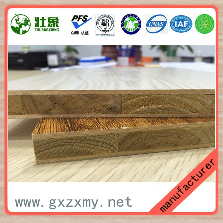 Direct Supplier Blockboard Price For Furniture With Timber Strips Core