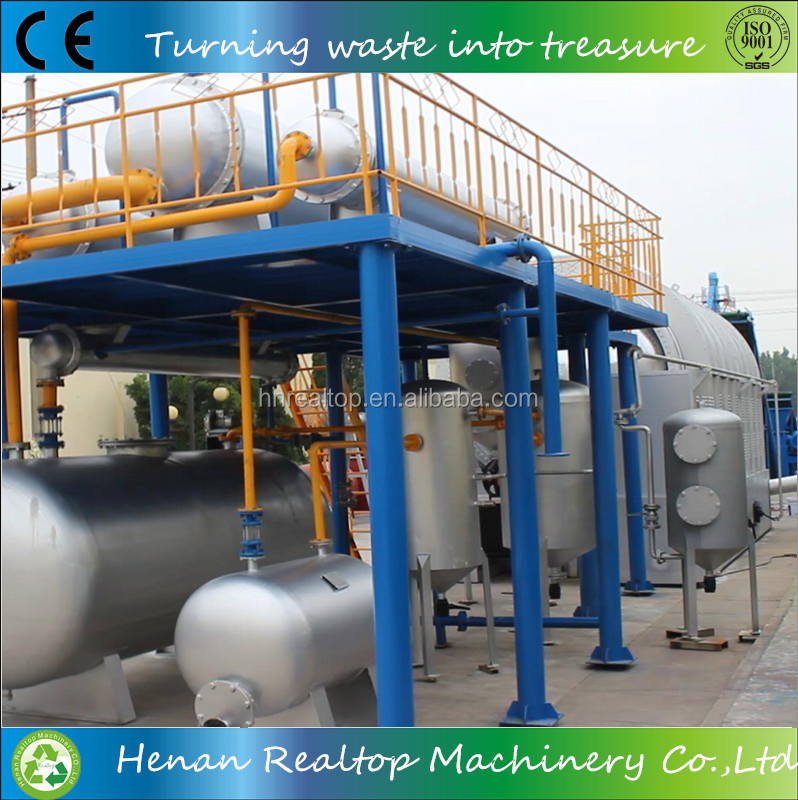 best manufature waste tyre recycling fuel oil equipment