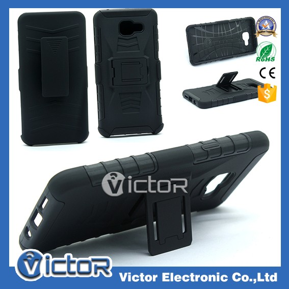 Factory supply holster belt clip kickstand moblie phone holster case for Samsung A510 2016