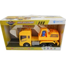 Plastic friction truck/friction car /friction engineering truck with light and music for kids!
