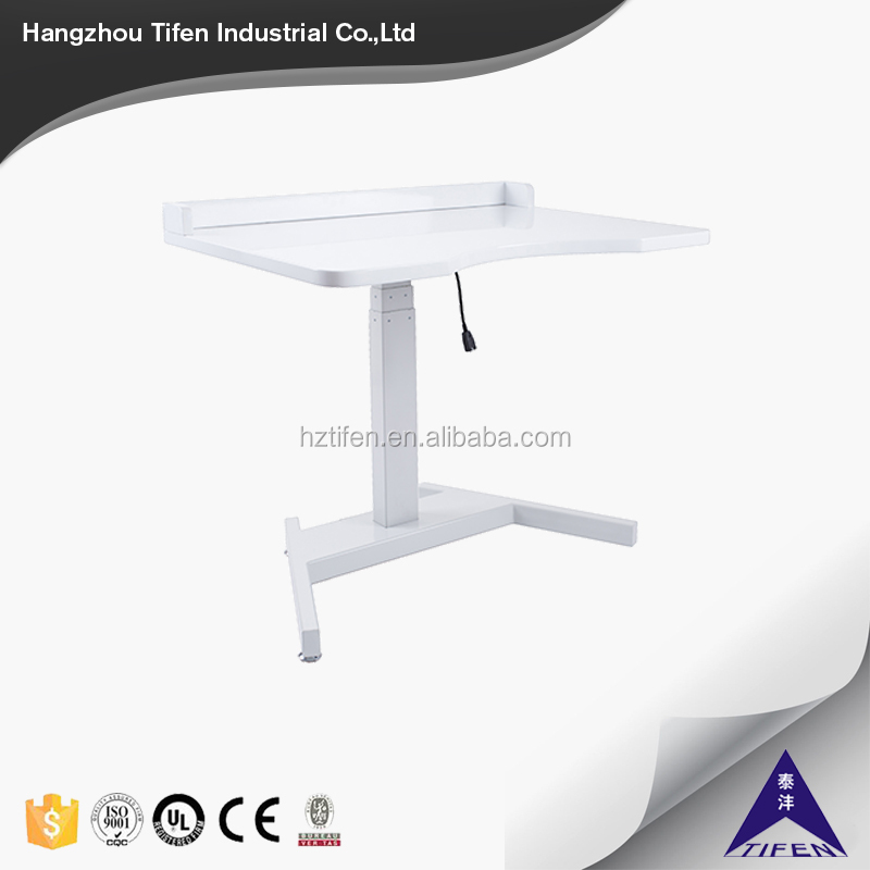 good quality new design one leg height adjustable office desk