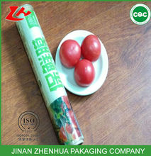 pvc clear plastic rolls for food packaging material fruits film nimi roll kitchen use