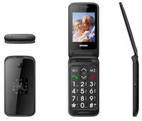 2.4 inch big boutton with SOS dual screen Flip elder senior cell phone