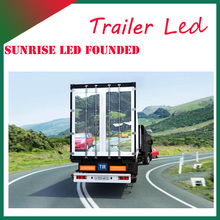 Full Color Tube Chip Color and Outdoor Usage mobile advertising p10mm LED pannel for truck