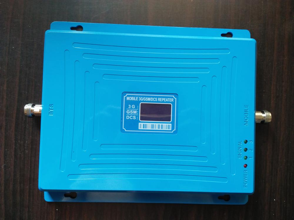 2g 3g 4g 900 1800 2100 MHz Tri Band Mobile Signal Booster/Repeater/Amplifier