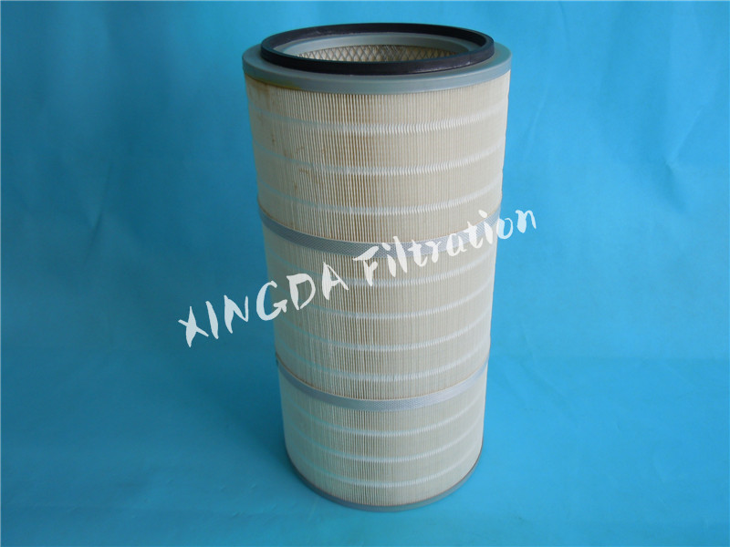 polyester dust air filter cartridge