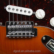 guitar hardware and guitar bridge for guitar strings