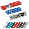 Full capacity plastic USB memory disk , logo customized usb thumb drive , bulk usb drives various capacity