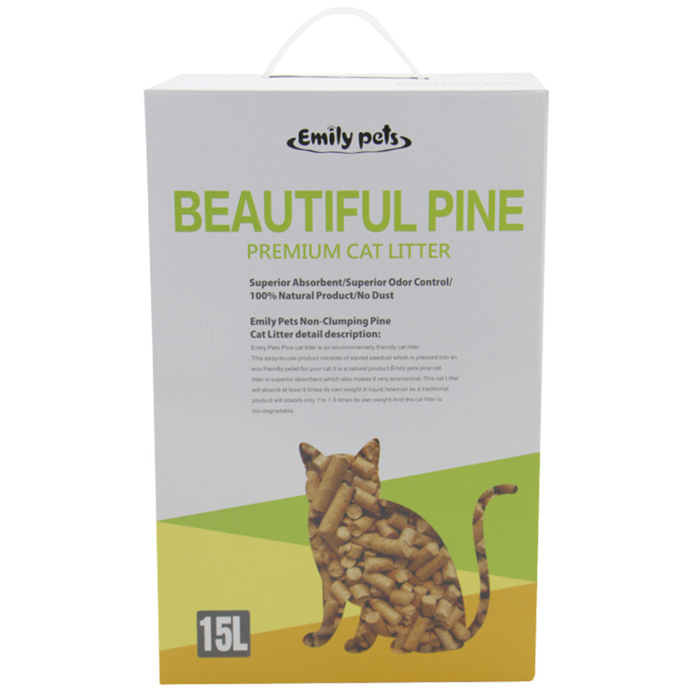 China Emily pets products produce 6mm pine wood pellets for sale