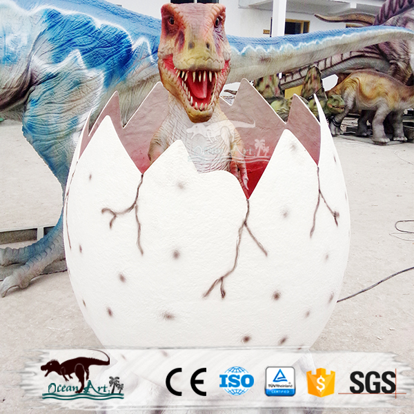 OA3178 Animated Animatronic Artificial Real Dinosaur Egg