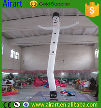 4m cute inflatable snow tube for holiday celebrate decoration