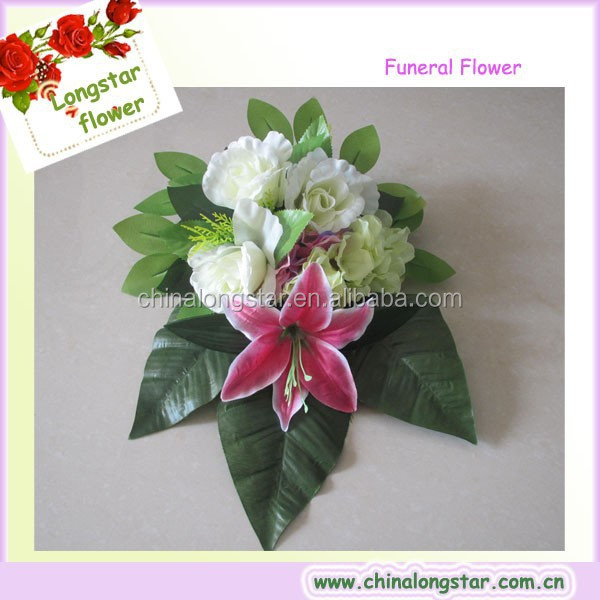 New Style Artificial Plastic Funeral Flower