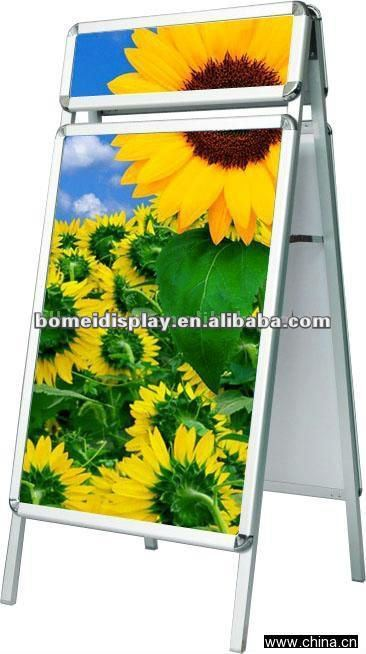 Aluminum board and advertising board pavement sign a1 poster frame