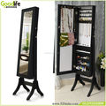 Made in china jewelry cabinet antique furniture with full length mirror