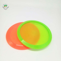 2018 new design promotional wholesale custom toys plastic kids flying frisbee outdoor disc