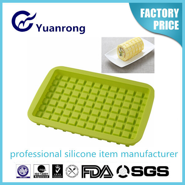 100% Eco-friendly Silicone Waffle Bakware Silicon Cake Mold