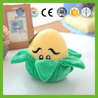 Wholesale popular game plant vs zombies stuffed vegetables soft toys