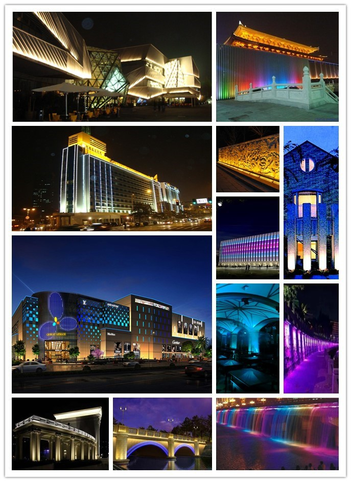 high quality architecture 18w outdoor led lights wall washer