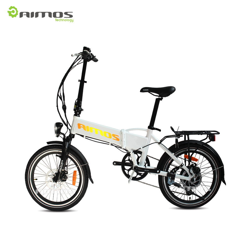 Durable high quality foldable electric bicycle folding e bike with 250W 350W 500W 750W 1000W motor for beach cruiser