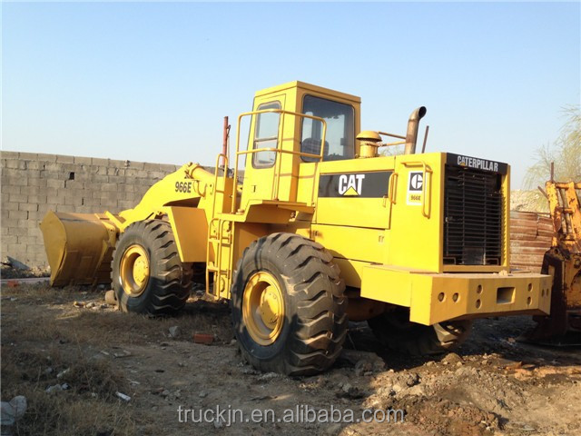 Used Japanese Wheel Loader 966E