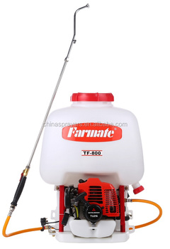 Knapsack Mitsubishi engine power Sprayer TF-800A, CE certified.