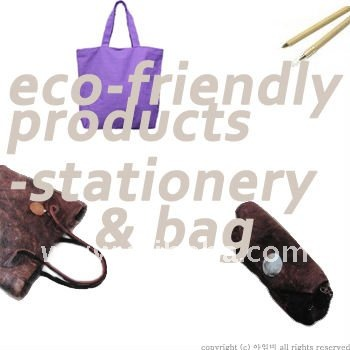 ECO- FRIENDLY STATIONERY & FASHION BAG/ Gift for ECO