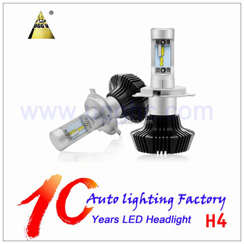 Advanced Auto Parts H4 LED Headlight 50W 8000LM LED Car Lamp Auto Head Bulb