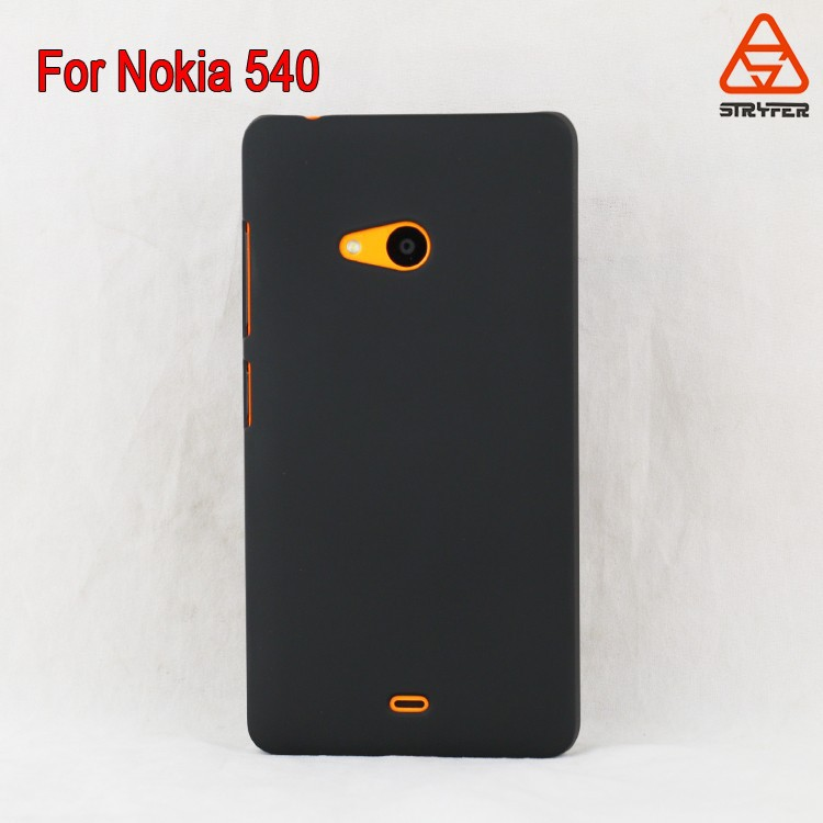 For NOKIA Lumia 540 ECO PC clear mobile phone cover case wholesale best price China supplier,spraying rubber oil case cover