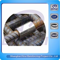 Metal polishing material construction coupler Straight Screw rebar coupler price
