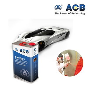 ACB pearl white car paint 1k basecoat