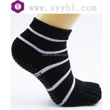 mens black and white socks with custom embroidery logo