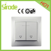 Wenzhou 16A Double Pole Switch 10 Amp Switched Socket Double Gang Electrical Plug Switched Socket