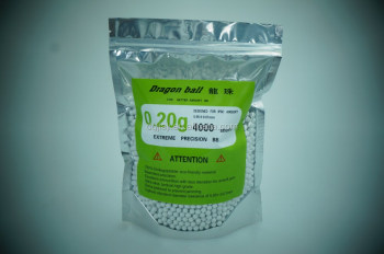 4000 rounds 0.20g 6mm AIRSOFT GUN HIGH GRADE Ammo
