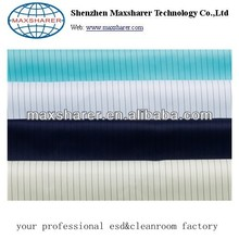 Polyester cleanroom Antistatic fabric
