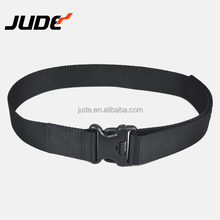 "1.5"" 38 mm Tactical Belt Double Duty Thick Military Police Men's Nylon Black Plastic Buckle Quick Release"