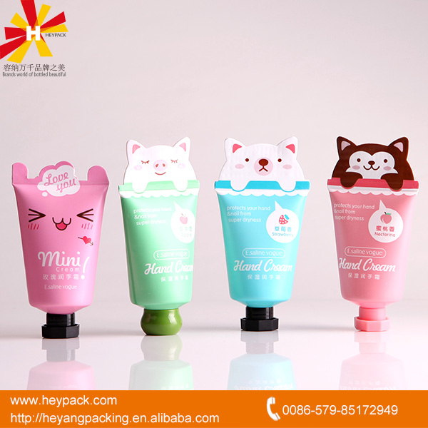 New style hand cream tube packaging printing