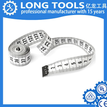 New design popular Plastic Fiberglass printable custom PVC tailor tape measure