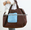 Promotional eco-friendly fashion bags folding nylon travel bag with