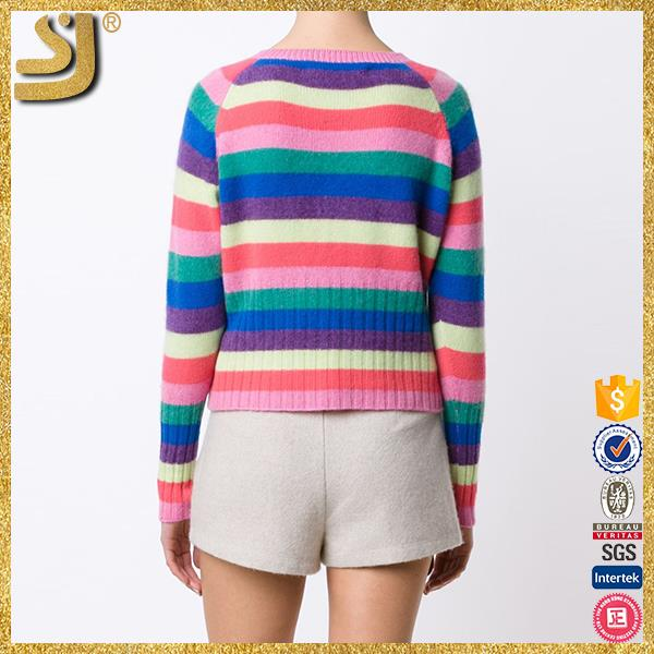 OEM factory price pullover cashmere wool women sweater designs for ladies, pullover long wool sweater