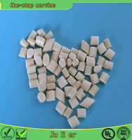 modified virgin plastic granules abs , abs bulk plastic pellets for abs sheet