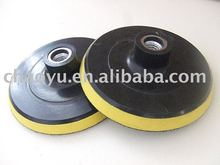 plastic backing pads