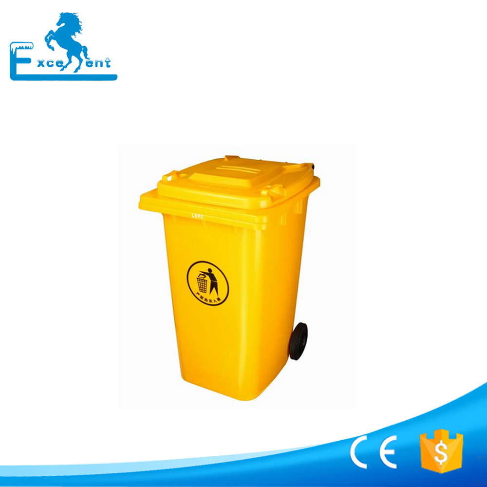 Hot selling plastic dustbin outdoor made in China
