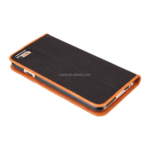 Good design Wallet PU Leather Phone Case For Apple iphone 6S stand flip case cover