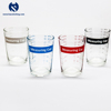 Free Sample 120 ml Transparent Drinking Glass Measuring Cup