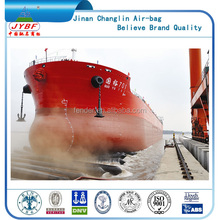 7 layers high tensile strength ship docking/undocking rubber ballon