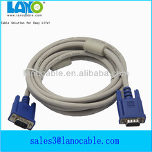 New arrival db9 to vga cable double ferrite cores